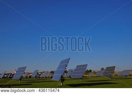 Solar Energy. Renewable Energy.solar Power Farm. Renewable Energy From Nature.solar Power Technology