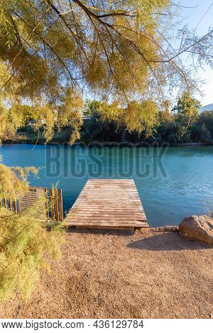 Public Beach - The Green Beach, Nahal Hassi In The Beit She'an Springs Valley