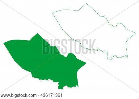 Miguel Calmon Municipality (bahia State, Municipalities Of Brazil, Federative Republic Of Brazil) Ma