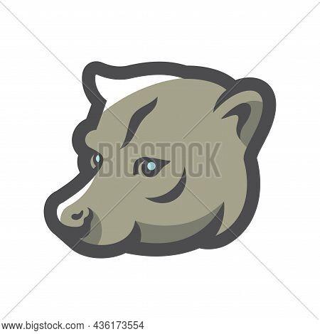 Luwak Coffee Animal Vector Icon Cartoon Illustration