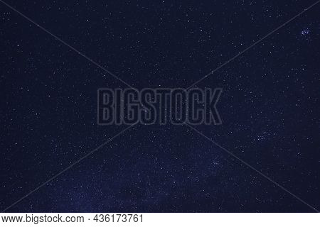 Picturesque View Of Night Sky With Beautiful Stars