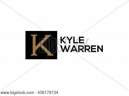 K Letter Logo Design And K Minimalist Logo.