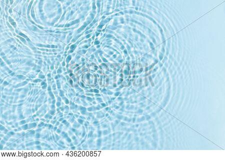 Water ripple texture background, blue design