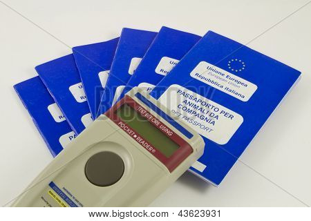 Microchip Reader and Companion Animal Passport
