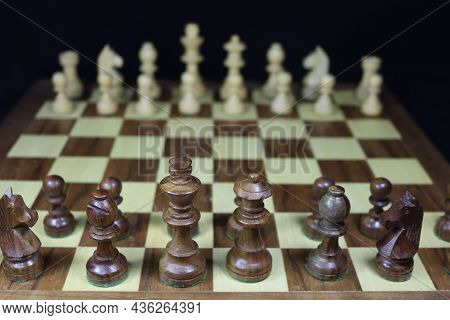 Beautiful Game To Think Strategy Skill Figures Played