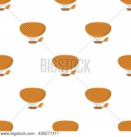 Airship Pattern Seamless Background Texture Repeat Wallpaper Geometric Vector