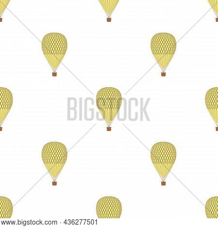 Aerostat Pattern Seamless Background Texture Repeat Wallpaper Geometric Vector