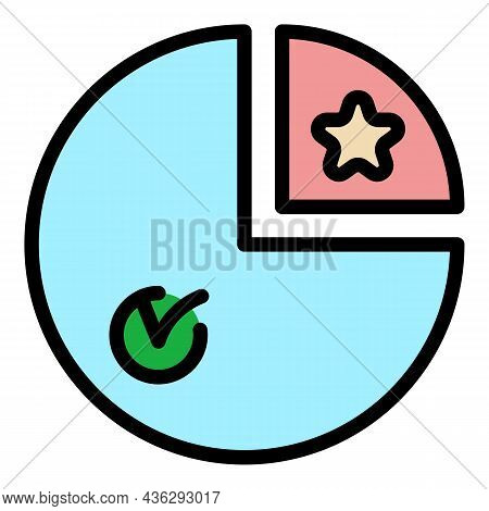Voting Democracy Icon. Outline Voting Democracy Vector Icon Color Flat Isolated