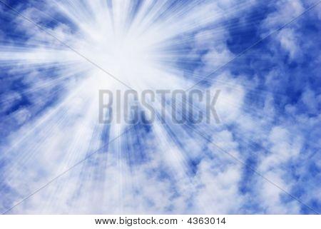 Sky And Sunbeam