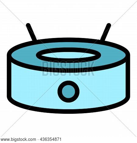 Personal Device Icon. Outline Personal Device Vector Icon Color Flat Isolated