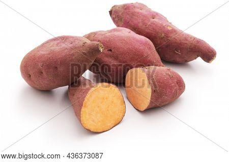Japanese sweet potato named Halloween sweet.