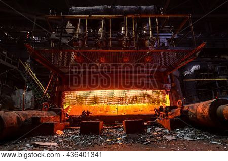 Furnace For Heating Metal Forgings And Ingots. Furnace For Heating Metal Forgings And Ingots. Auxili