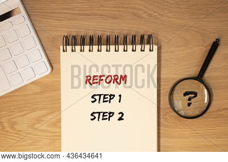 Reform Steps 1, 2. Concept Of Policy And Economy Changes.