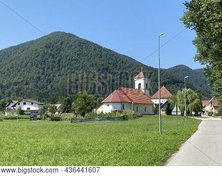 The Church Of St. Mary Magdalena From The 17th Century, Brod Na Kupi - Gorski Kotar, Croatia (podarh