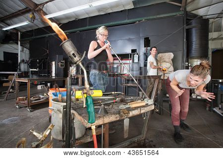 Distracted Glass Workers
