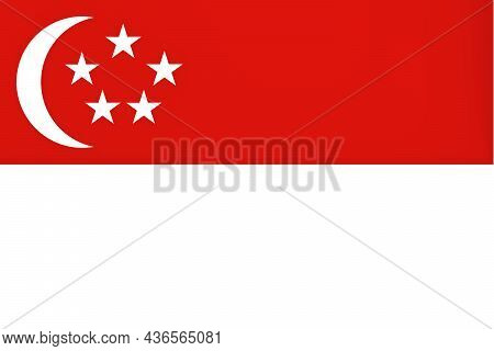 The Flag Of Singapore Officially The Republic Of Singapore Is A Sovereign Island State In Southeast
