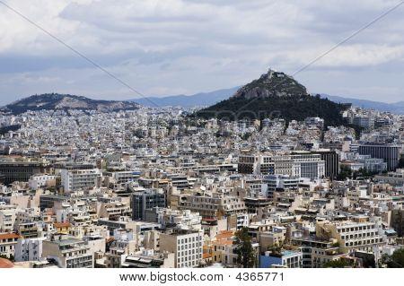 Athens Mount Lykabettus
