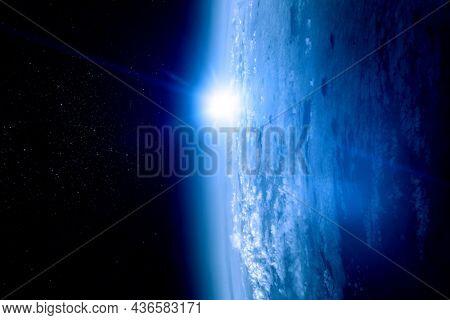 Space exploration concept. . Mixed media
