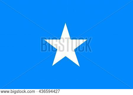 The Flag Of The Somalia Officially The Federal Republic Of Somalia Is A Country In The Horn Of Afric