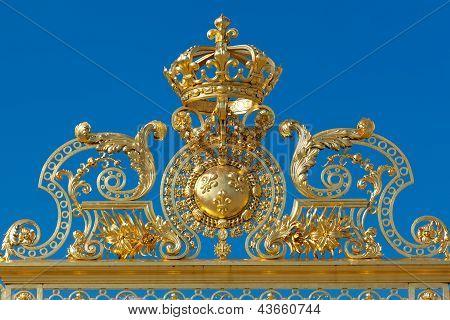 Crown In Versailles, Yvelines, Ile De France, France