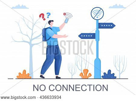 Lost Wireless Connection Or Disconnected Cable, No Wifi Signal Internet, Page Not Found On Display S