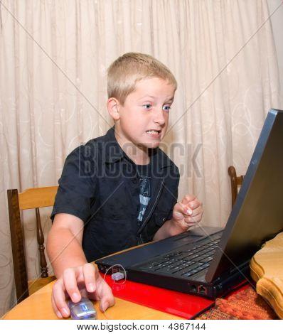 Angry Computer Boy