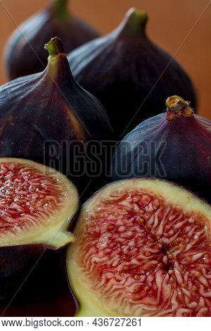 Photography To Theme Beautiful Sweet Purple Fruit Fig