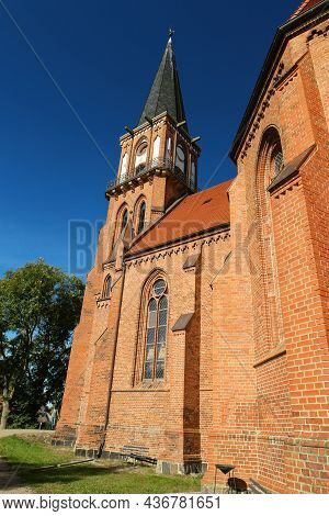Church Of Wustrow On Fischland In Germany
