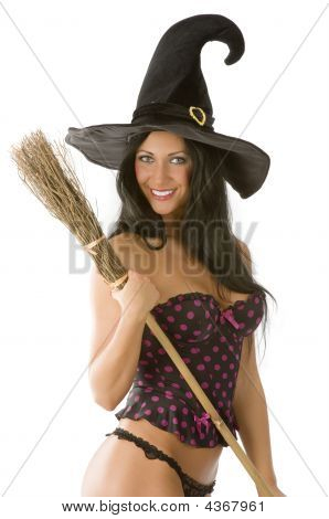 Sexy Witch Smiling