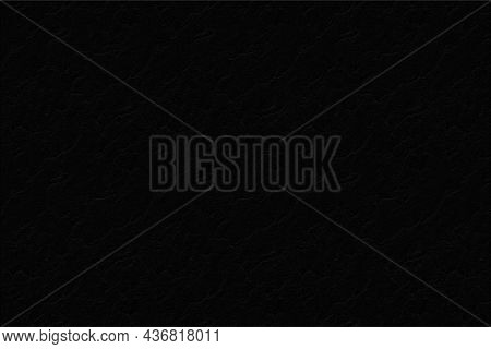 Black Background Wall Jagged Patterns Like Streaks Of Water. Abstract Illustration Design.