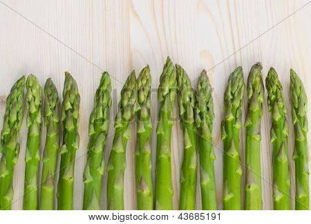 Green Asparagus Background