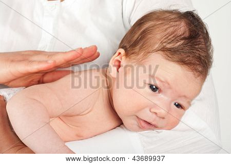 Baby Burping Air After Eating