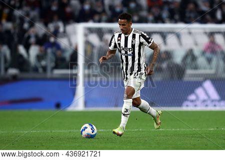 Torino, Italy. 17 October 2021. Danilo Luiz Da Silva Of Juventus Fc  During The Serie A Match Betwee
