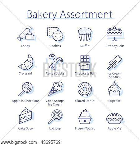 Bakery Assortment Pack. Tasty Cookies, Sweet Snacks