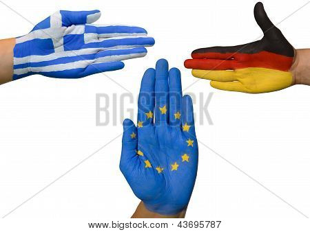 Greece, Germany And Europe