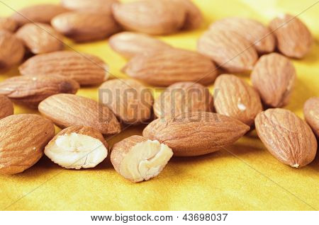Nuts Of Almonds