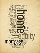 Refinancing With Home Equity Loans Tag Cloud poster