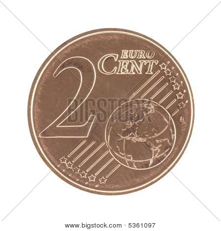 Uncirculated 2 Eurocent