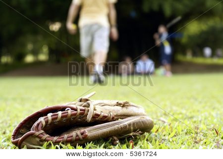 People Playing Softball Outdoors