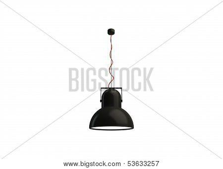 Modern Black Lamp
