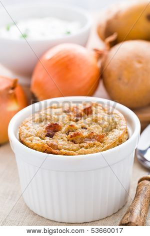 Babka - Belarussian meal made of potato