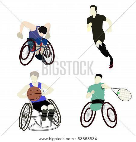 Disabled Man Sport