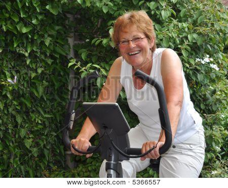 Elderly Woman Training