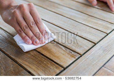 Impragnate Wooden Table