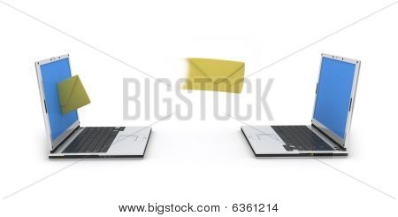 Two Laptops Email