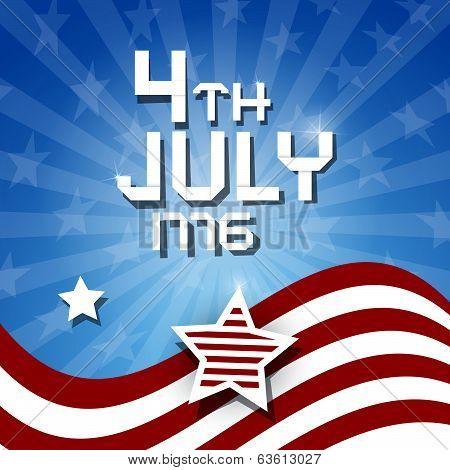 Vector american flag background vector photo bigstock vector american flag background 4th july 1776 theme voltagebd Images
