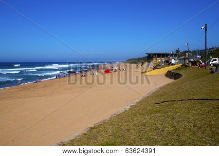 Day Trippers To Westbrook Beach At Tongaat