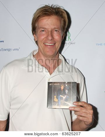 LOS ANGELES - APR 14:  Jack Wagner, with his new CD