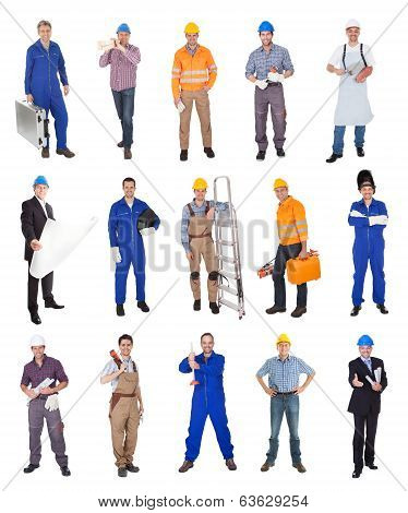 Industrial Contruction Workers