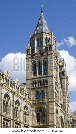 Natural History Museum in Londond